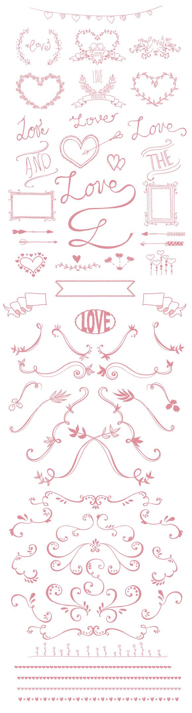 Valentine S Day Doodles Pack