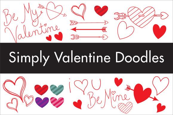 Simply Valentine Doodles