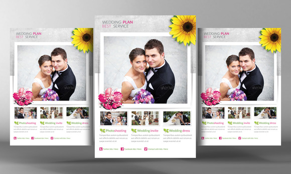 Wedding Planing Flyer Template