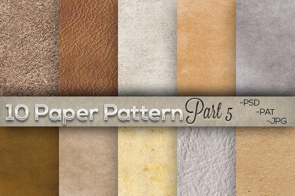 10 Paper Pattern Part 5