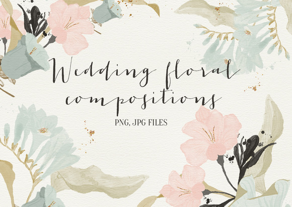 Wedding Floral Compositions