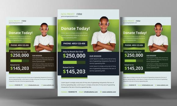 Church Charity Donation Flyer