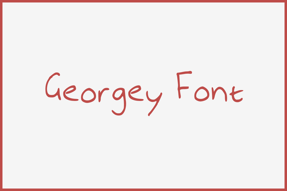 Georgey Font