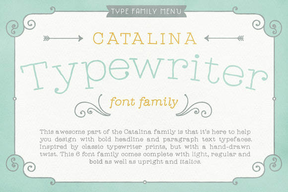 Catalina Typewriter