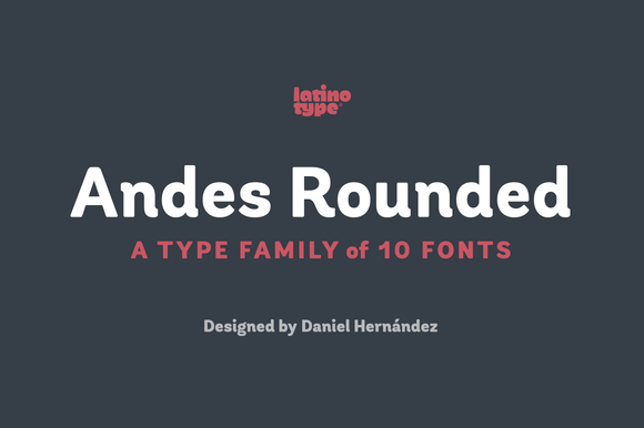 Andes Rounded Family 50% Off