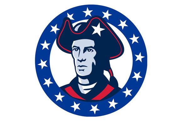 American Patriot Minuteman Stars Ret