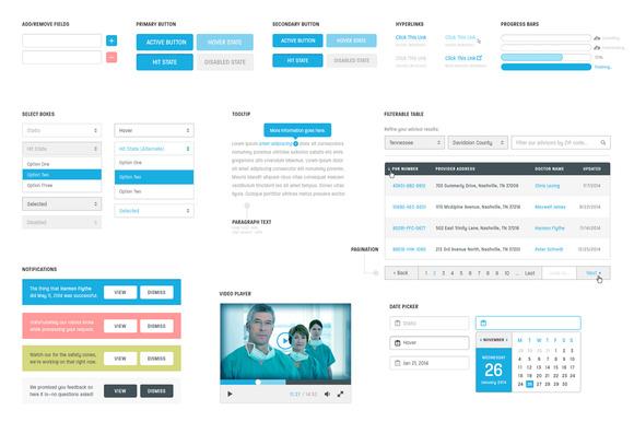 MedTech UI Kit