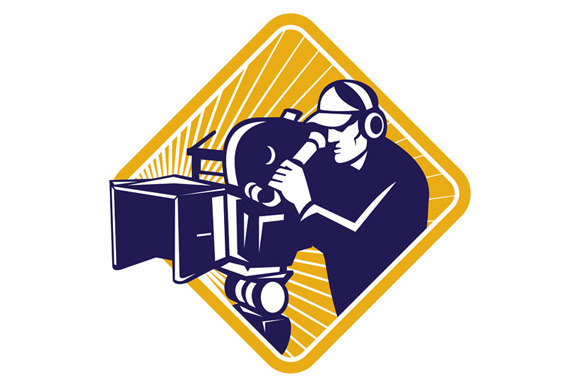 Film Crew Cameraman Shooting Filming