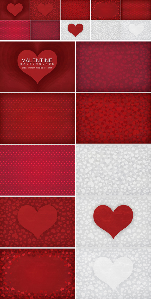 Valentine Heart Backgrounds