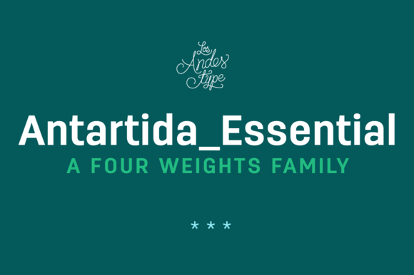 Antartida Essential Family 50% Off