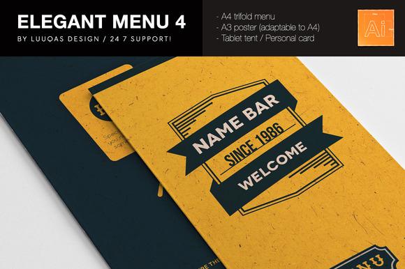 Elegant Food Identity 4