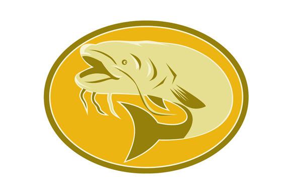 Catfish Fish Retro