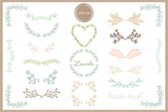 Laurel Design Elements