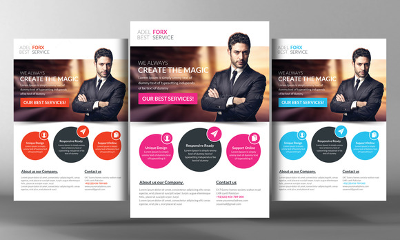 Active Modern Business Flyer