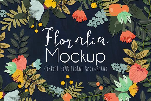 Floralia Mockup