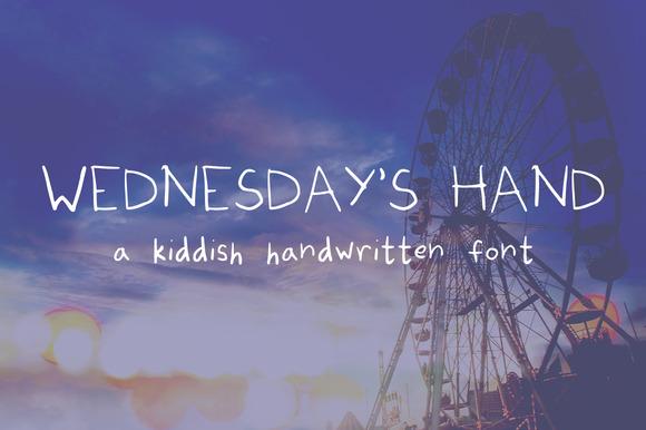 Wednesday S Hand
