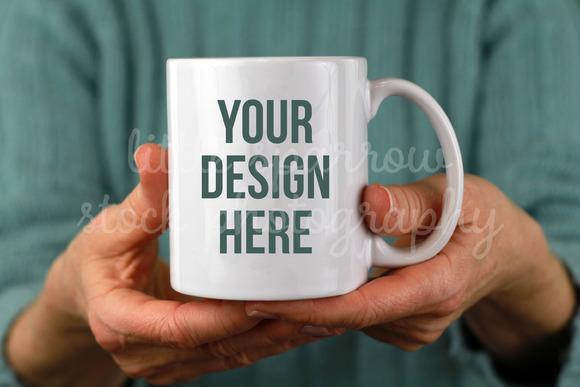 Mint Coffee Mug Mock Up