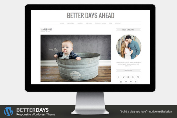 Better Days Wordpress Theme
