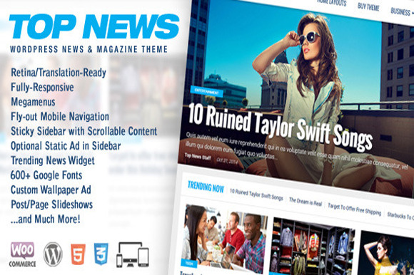 Top News Wordpress News Magazine