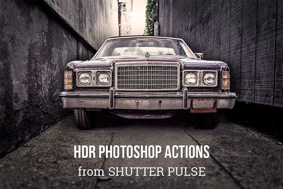 HDR Photoshop Actions