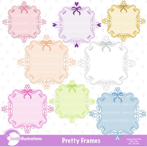 Pretty Frames Clipart 801