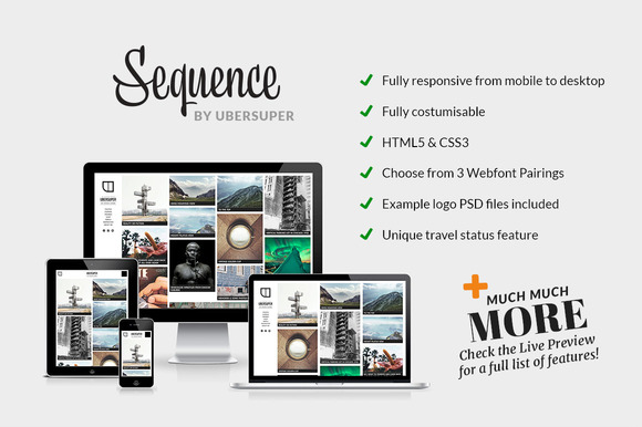 Sequence Wordpress Theme