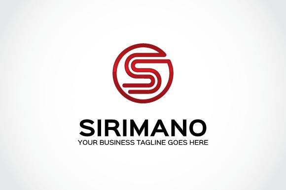 Sirimano Logo Template