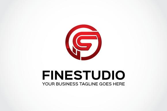 Fine Studio Logo Template