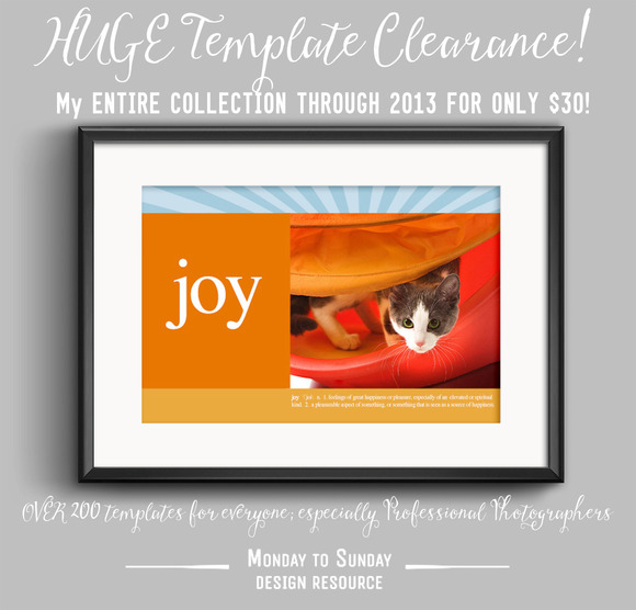 CLEARANCE 200 Templates Save 90%