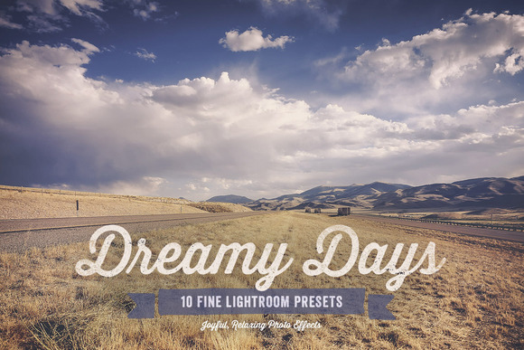 Dreamy Days Lightroom Presets Vol 1