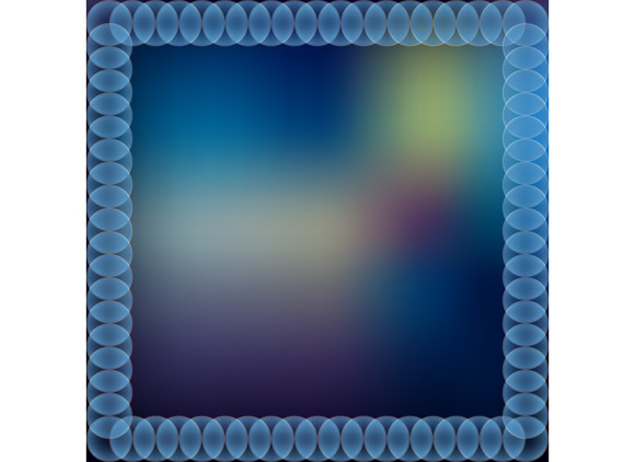Abstract Color Frame Background