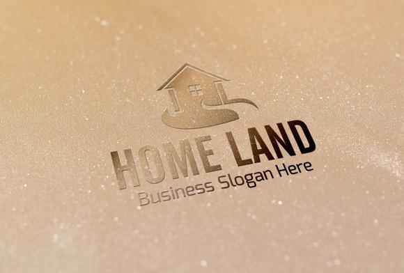 Home Land Style Logo