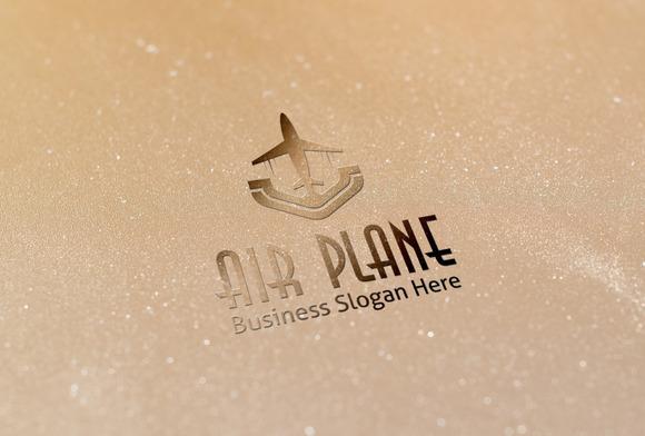 Air Plane Style Logo