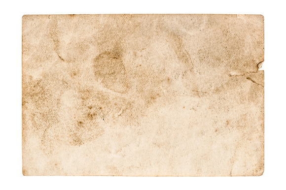 Stained Used Paper Background