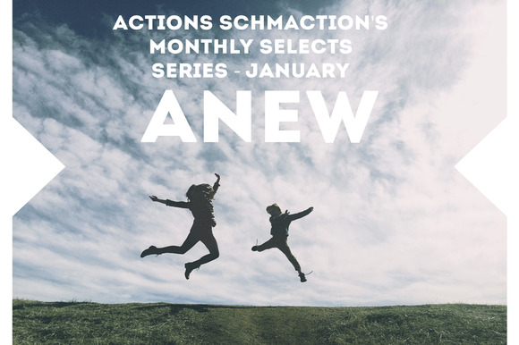 Monthly Photoshop Action January