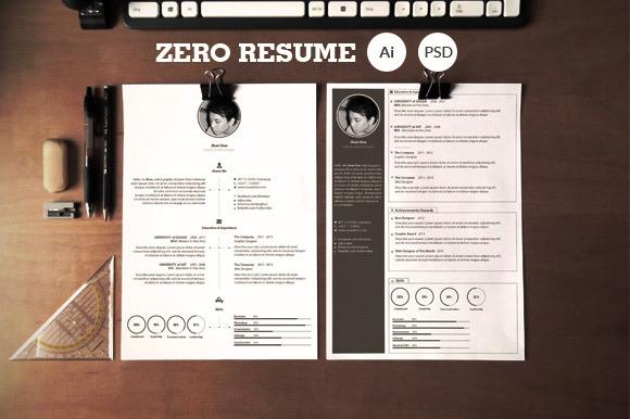 Zero Clean Resume