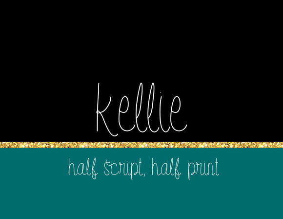 Kellie 2 Fonts Included
