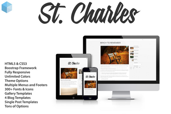 St Charles Wordpress Theme