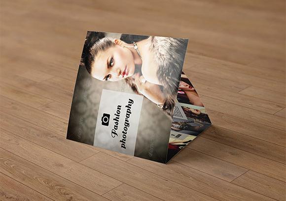 Tri-fold Photography Brochure