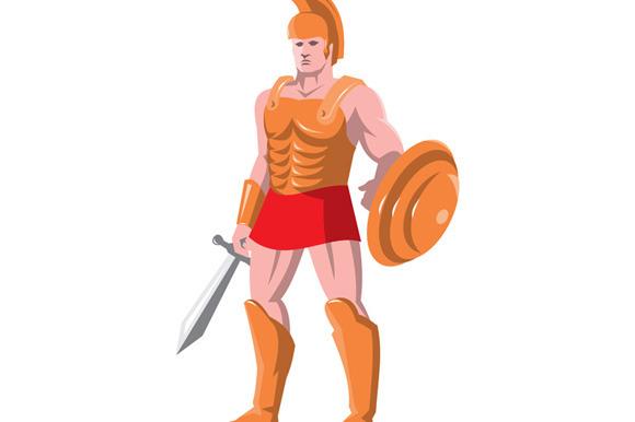 Gladiator Roman Centurion Warrior St