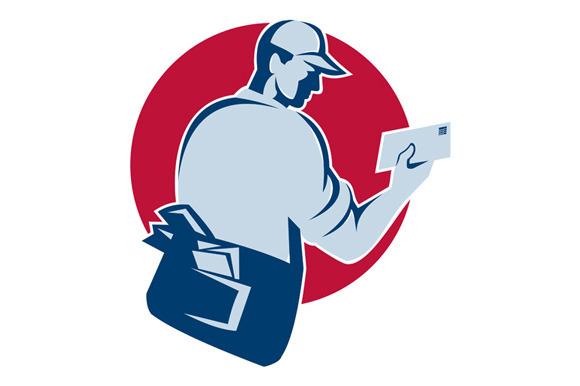 Mailman Postman Deliver Mail Envelop