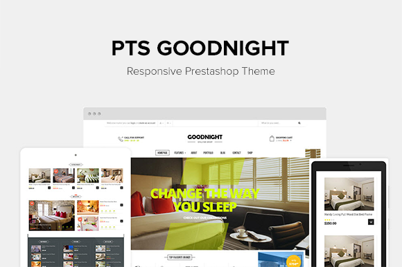 Pts Goodnight Prestashop Theme