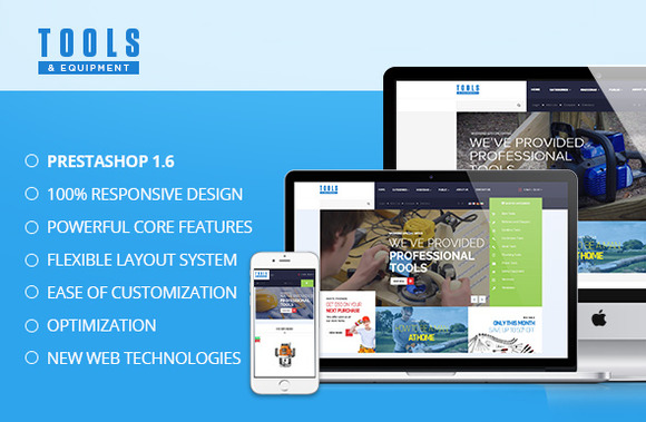 Pts Tools Prestashop Theme