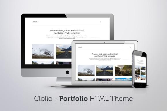 Clolio Portfolio HTML Theme