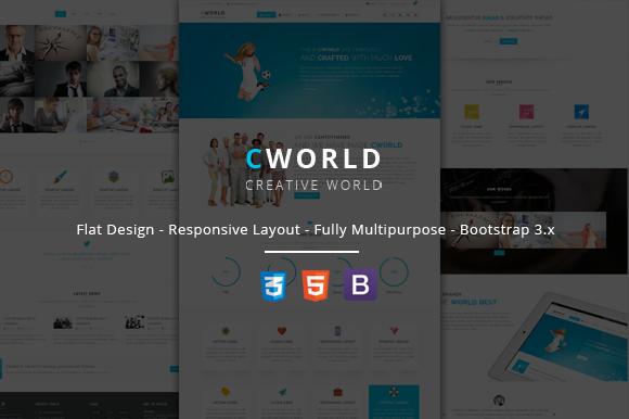 CWorld Multi Purpose Site Template