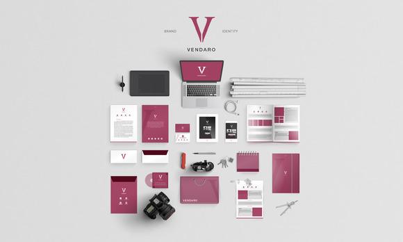 Vendaro Brand Identity