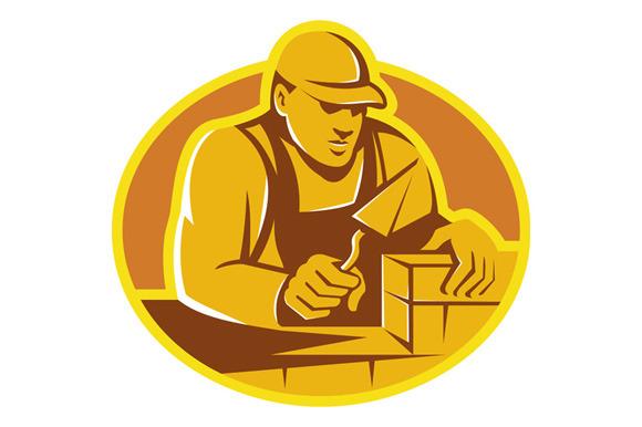 Mason Brick Layer Construction Worke