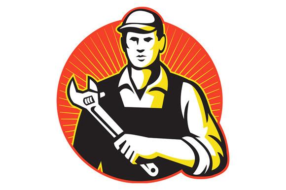 Mechanic Repairman With Adjustable W