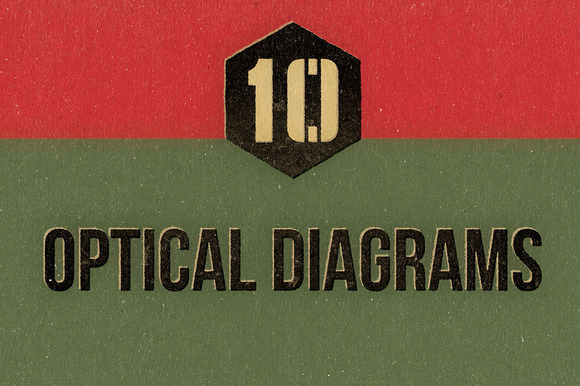 Vintage Optical Diagrams