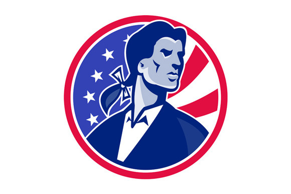 American Patriot Minuteman Stars Str